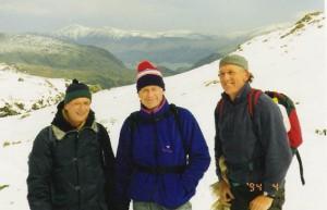 Peter, Allan and John