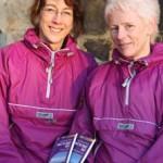 Gail Todd and Judy Whiteside (aka Twirlies on Tour)