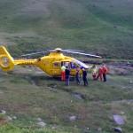 The Air Ambulance at Gavel Neese