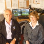 Iona Frost-Pennington and Richard at Millforge