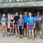 Wasdale team members before the run