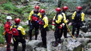 Our swift water technicians wearing their new kit