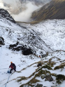 The top of the difficulties, high above hollowstones