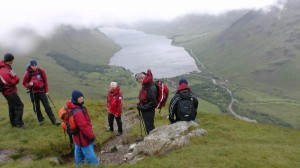 Top of Lingmell Nose